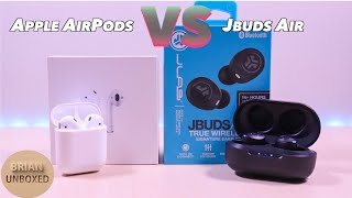 JLab JBuds Air vs Apple AirPods - Can $50 earbuds compare to $160?