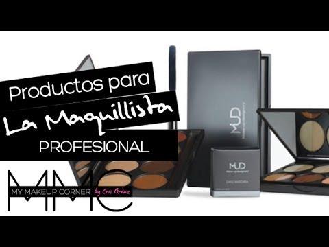 Comienza tu kit de maquillaje profesional