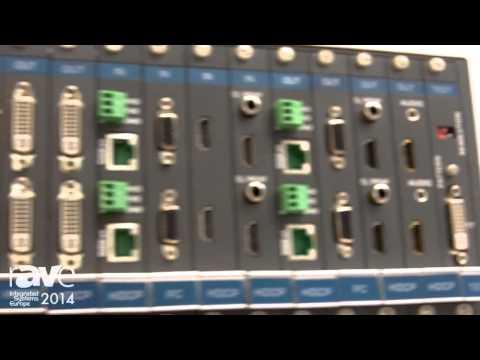 ISE 2014: Kramer Launches Digital Modular Matrix Cards