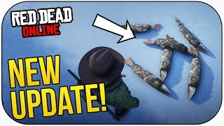 Red Dead Online: NEW UPDATE! FISHING CHALLENGES, XP BOOST, FREE ITEMS & MORE!