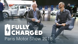 Paris Motor Show 2018 | Fully Charged