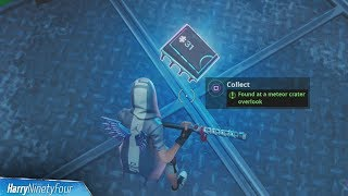Fortbyte #31: Meteor Crater Overlook Location Guide - Fortnite