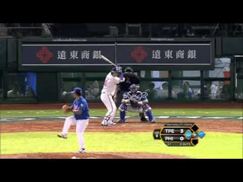 Chinese Taipei v Philippines (16-0) - Baseball Highlights - World Baseball Classic [16/11/2012]