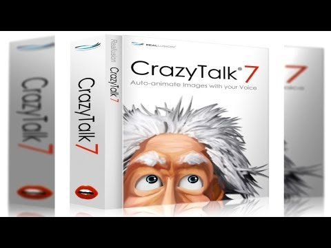 Reallusion's CrazyTalk 7 review on Mac OS X.