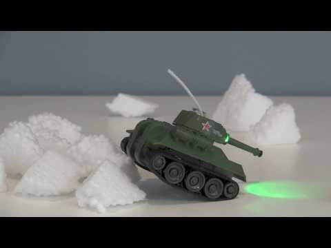 RC Tank-7 Review - A Micro Rc Tank Stocking Stuffer!
