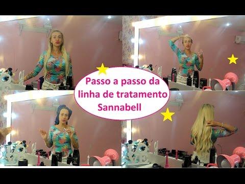 Luanda Barbie: Tratando dos cabelos com Sannabell. Cuidados com megahair Loiro