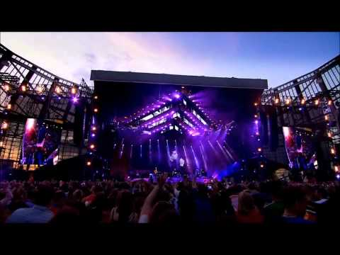 The Script - The Man Who Cant Be Moved Live