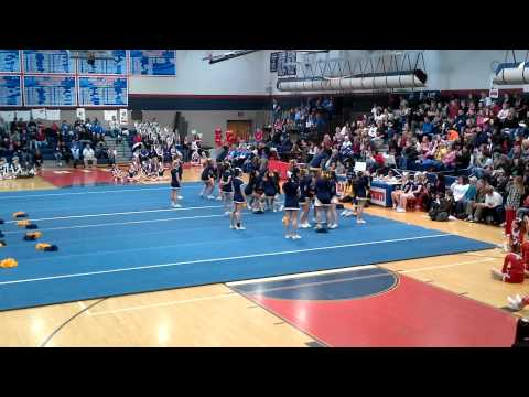 2012 Upper Merion Middle School Cheerleaders