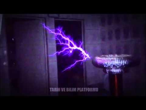 Tesla bobini ile Mortal Kombat film müziğini yapmak