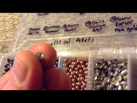 Airguns and Pellet Reviews By EViLDeD ( Crosman Lead Free SSP Hollow Point .177 Pellet )