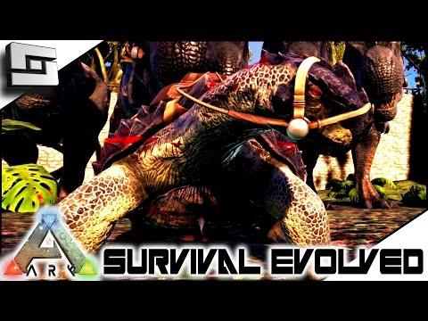ARK: Survival Evolved - FRANK THE TANK! S4E40 ( The Center Map Gameplay )