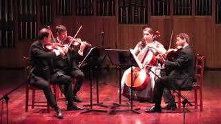 Brahms - String Quartet Op. 51. No. 1 - II. Romanze. Poco Adagio (Kontras Quartet)