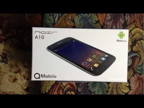 Q mobile Noir A10 Latest Mobile 2012 with Android 4.0.4 Unboxing & Review (urdu)