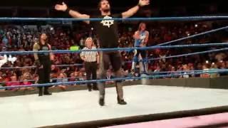 Aj styles John Cena dark match Smackdown 8/30/2016