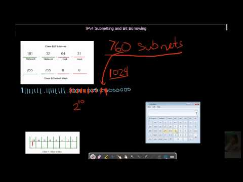 4 - Subnetting and Bit Borrowing for Hosts and Subnets