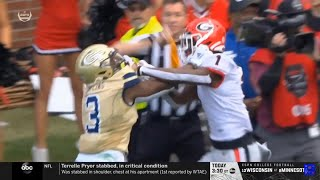 Georgia and Georgia Tech FIGHT in Rivalry Week