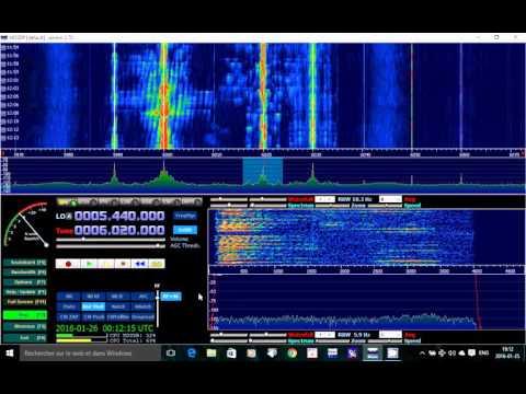 China radio International 6020 Khz Shortwave on Soft66rtl SDR