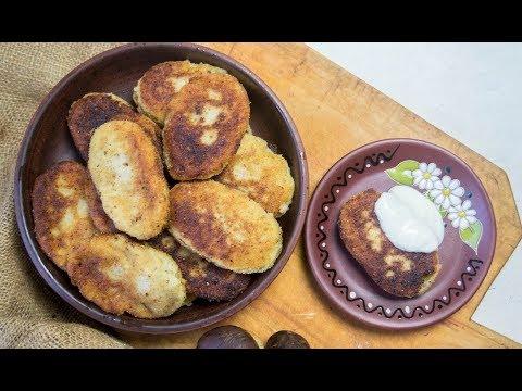 Картофельные зразы с грибами и сыром Картопляники