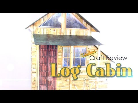 Fabulous Craft Review: Doll Log Cabin