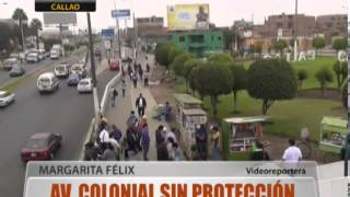 Av. Colonial Sin Proteccin