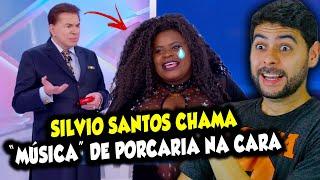 Silvio Santos chama música de Jojo Todynho de porcaria na cara dela.