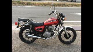 HONDA CB125T MASTER Motorcycle in JAPAN