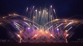Nijmeegse vierdaagse - Waal in Vlammen 2017   16-07-17   DsNL fireworks