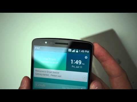 AT&T LG G3 Unboxing and Hands-on