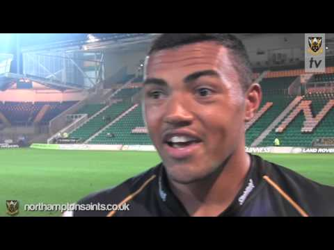 Saints 24 Edinburgh 6: Luther Burrell post-match