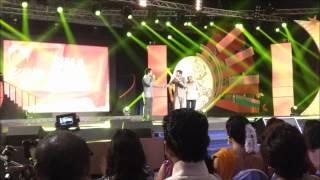 Dhanush, Simbu sing 'Kolaveri' at SIIMA