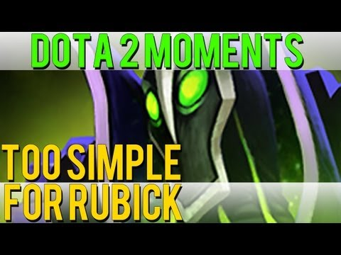 Dota 2 Moments - Too Simple for Rubick