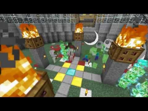 Minecraft Bukkit Plugins - MobArena 1.2.5 ( Fight Mobs! ) ( How to setup Arena )