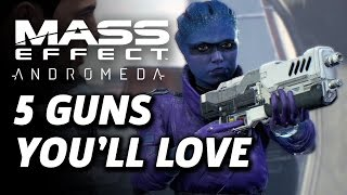 5 Great Guns in Mass Effect: Andromeda