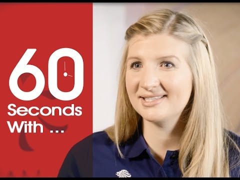 60 Seconds With... Rebecca Adlington | Swimming