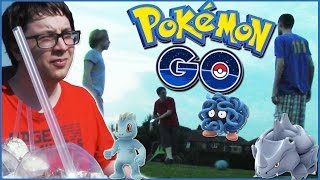 We Pokemon GO on a Football Adventure!