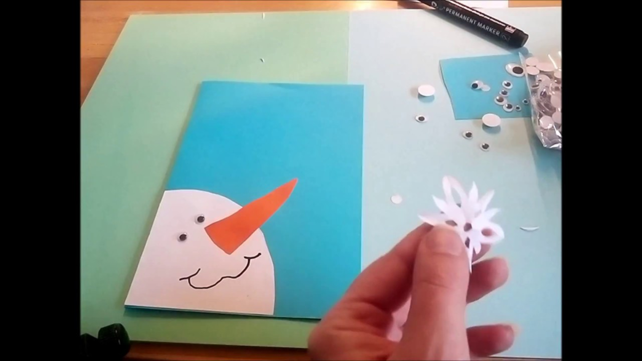 Легкие открытки для детей 34