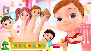 Finger Family Song | Nursery Rhymes & Music for Kids | Kindergarten Cartoons by Little Treehouse