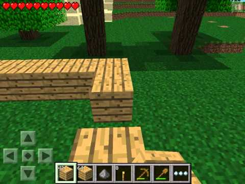Let's play Minecraft Pocket Edition #2 - Коробка