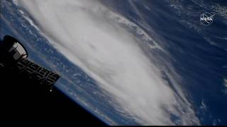 Hurricane Dorian - latest views from the International Space Station