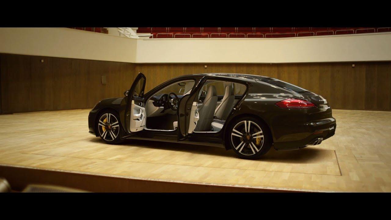 Publicité Porsche – une salle de concert dans votre voiture de sport