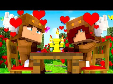 Minecraft Daycare - BABY MOOSECRAFT'S FIRST DATE! (Minecraft Kids Roleplay)