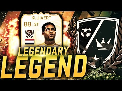 LEGENDARY LEGEND KLUIVERT! FIFA 15 ULTIMATE TEAM