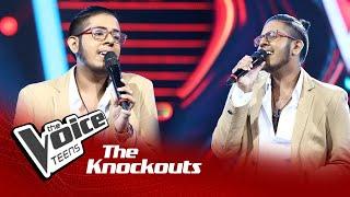 Oluka Dinel   Mal Wiyan Knockouts   The Voice Teens Sri Lanka