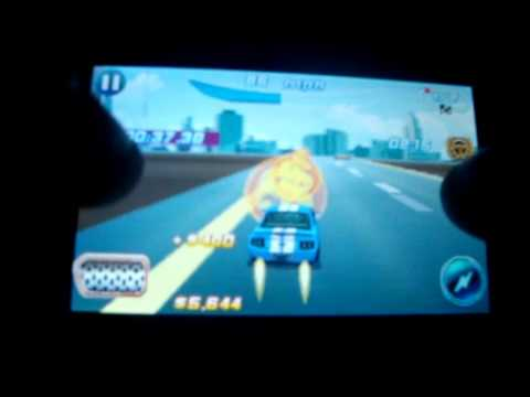 Asphalt 6 Adrenaline on Samsung S5230 Star (Landscape)(HD)