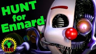 FNAF Sister Location: The Hunt for Ennard and The Secret Ending!