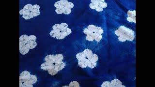 How to tie dye pattern design kameez..