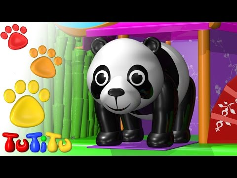 TuTiTu Animals | Animal Toys for Children | Panda Bear