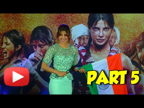Priyanka Chopra Talks About Independence Day | Uncut Video | Part-5
