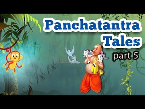 Panchatantra Tales In English - Animated Stories For Kids - Part 5 video