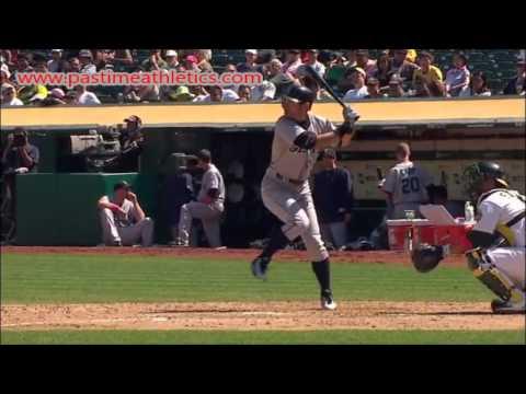 Ichiro Suzuki Slow Motion Baseball Swing - Hitting Mechanics Analysis